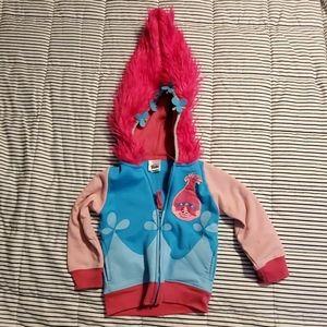 Dreamworks Trolls Poppy Zipup Jacket